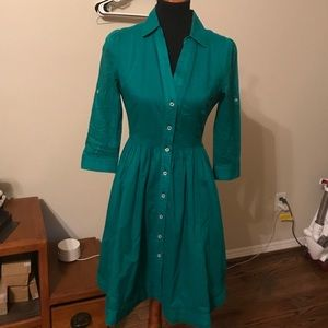 moulinette soeurs reed shirt Dress Sz 2